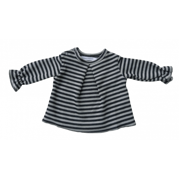 Bamboom Shirt Lange Mouw Girl Fango/Stripe