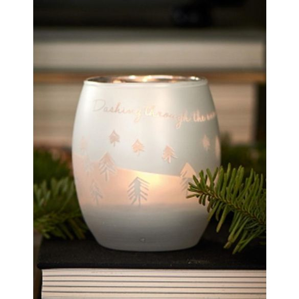 Riviera Maison Dashing Through The Snow Votive M