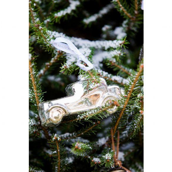 Riviera Maison Driving Home Silver Car Ornament
