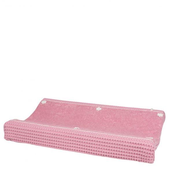 Koeka Changing Mat Cover Waffle Amsterdam Blush Pink