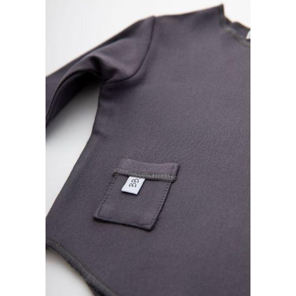 Bamboom Shirt Lange Mouw Dark Grey