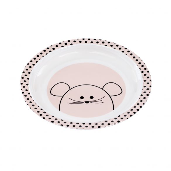 Lässig Dish Plate Little Chums Mouse