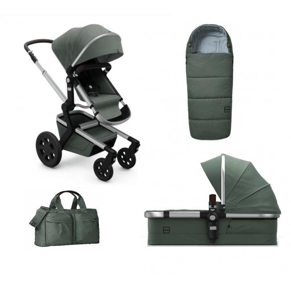 Joolz Day3 Marvellous Green compleet met tas en voetenzak