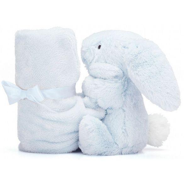Jellycat Bashful Bunny Knuffeldoek Blue