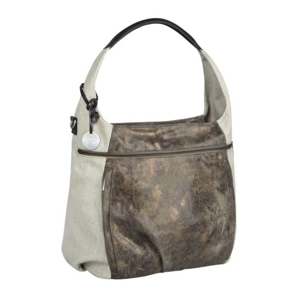 Lassig Casual Hobo Bag Olive-Beige