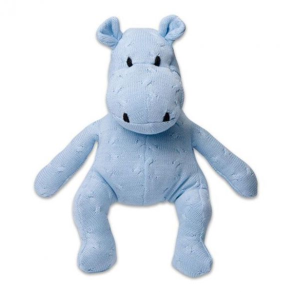 Baby's Only Hippo Cable 35 cm-Baby Blue