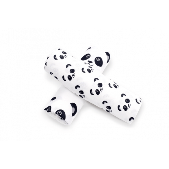 Briljant Baby Hydrofiel Swaddle Panda Dreams