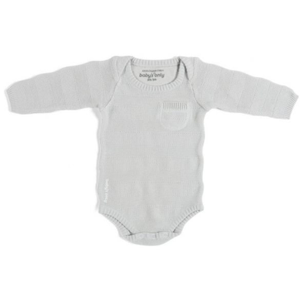 Baby's Only Body Stripe Long Sleeves Silvergrey