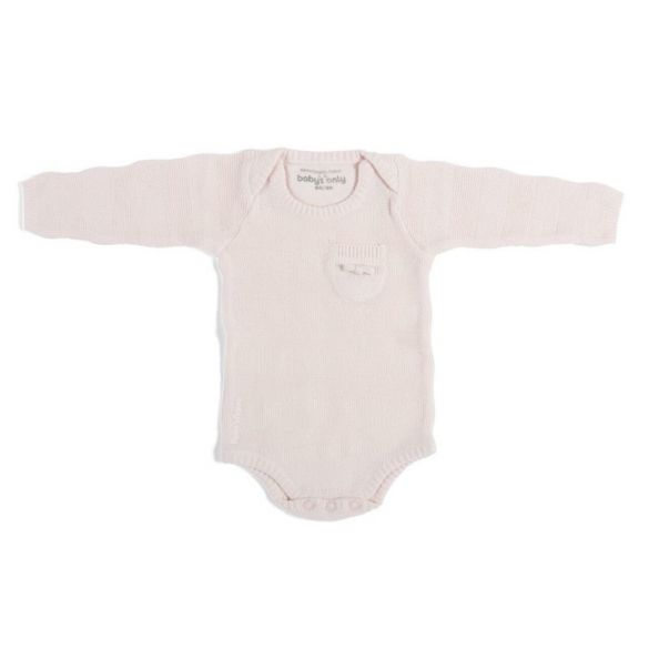 Baby's Only Romper Stripe Lange Mouw Classic Pink