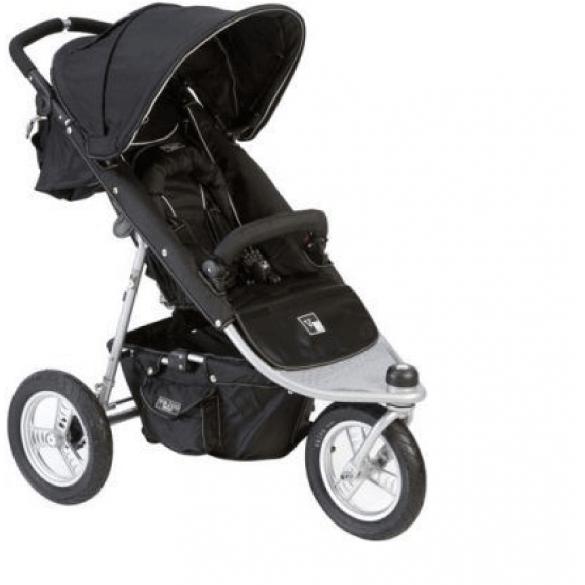 Valco TriMode Kinderwagen Single Zwart