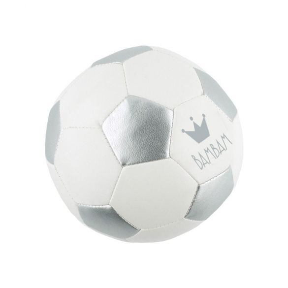 BamBam Voetbal zilver/wit