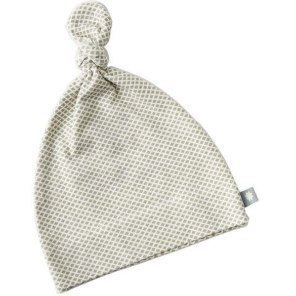 Little Label Mutsje Light Grey Diamond