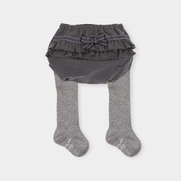 Tutto Piccolo Grey Short with Tights