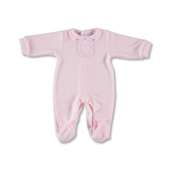 Babidu Babypakje 1-delig Pink met Kraagje