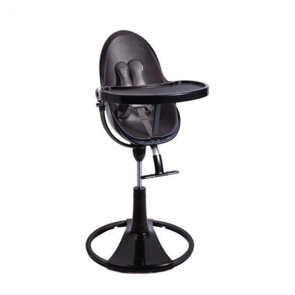 Bloom Kinderstoel Noir met Zwarte Zitting Compleet