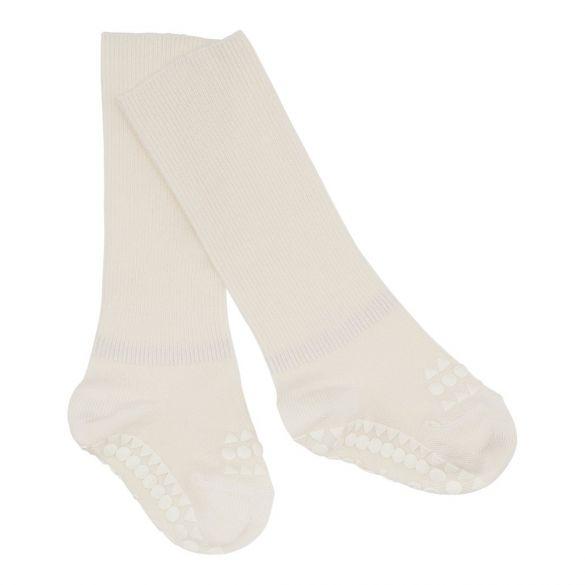 GoBabyGo Anti-Slip Sokjes Bamboe Off-White