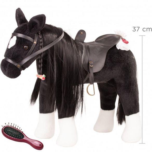 Gotz Plush Combing Horse Black