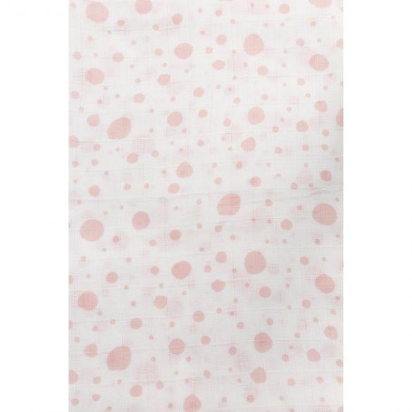 Meyco Swaddle XL Dots Pink
