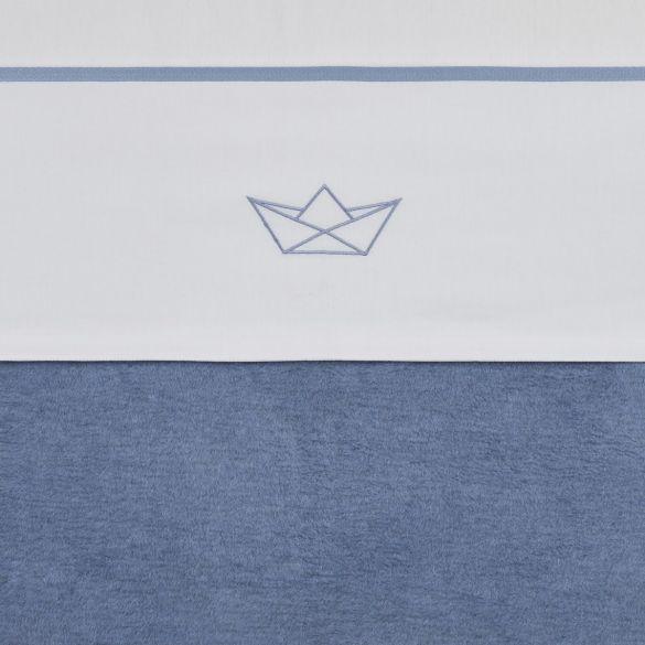 Meyco Katoenen Wieglaken Boat Jeans 75x100