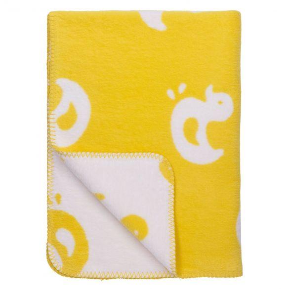 Meyco Bio Cotton Cot Blanket Duck 120x150