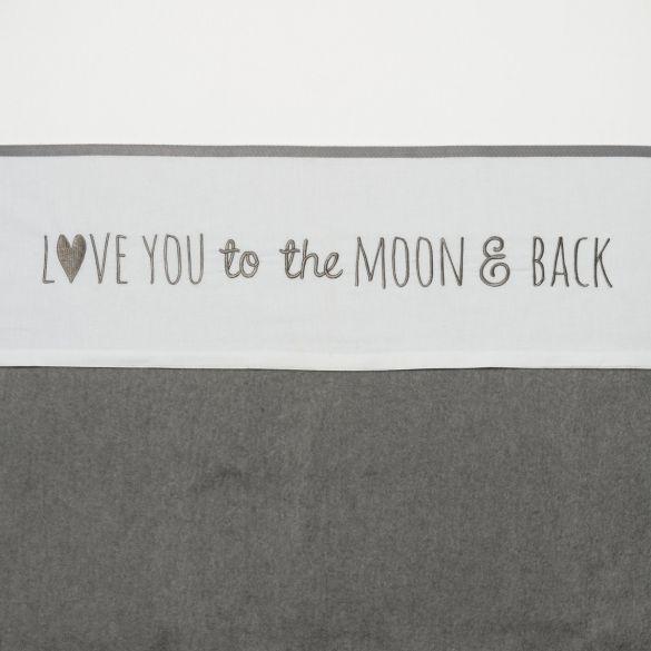 Meyco Katoenen Ledikantlaken Love You To The Moon&Back