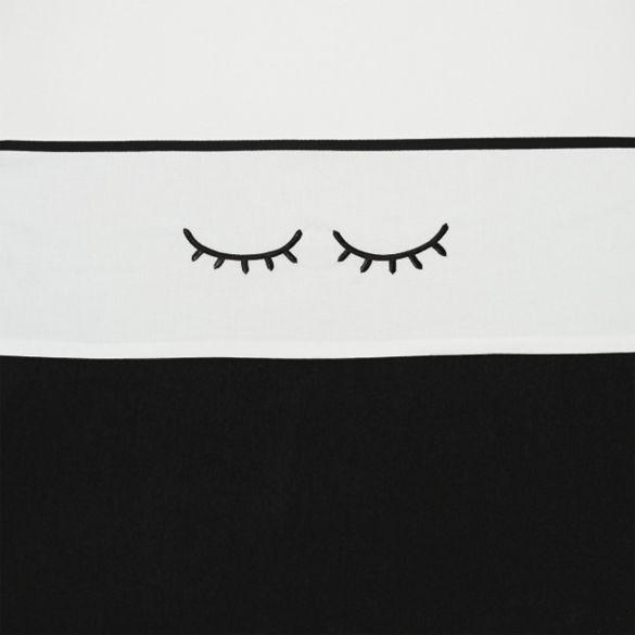 Meyco Cotton Cot Sheet Sleepy Eyes 100x150