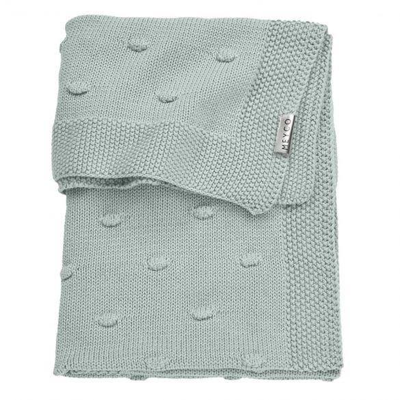 Meyco Silverline Cot Blanket Knots 100x150
