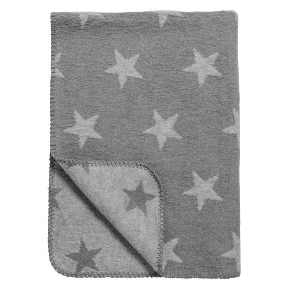 Meyco Cotton Baby Crib Blanket Stars 75x100