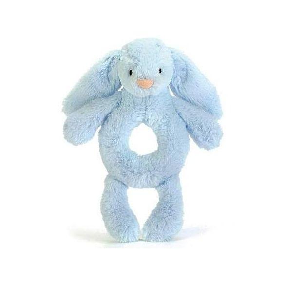 Bashful Blue Bunny Rattle (18 cm) Small