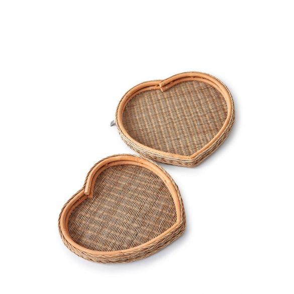 Riviera Maison Happy Heart Serving Tray S/2