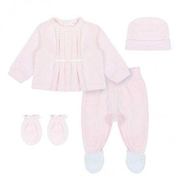 Tutto Piccolo Velours Setje 4 delig Pink