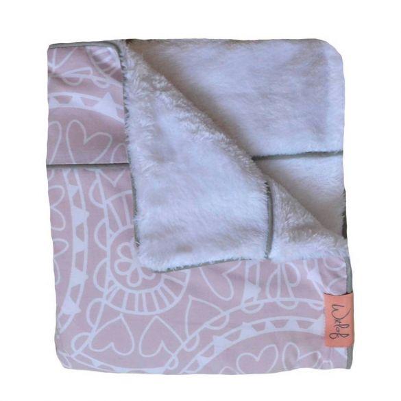 Witlof For Kids Blanket Little Lof Misty Pink
