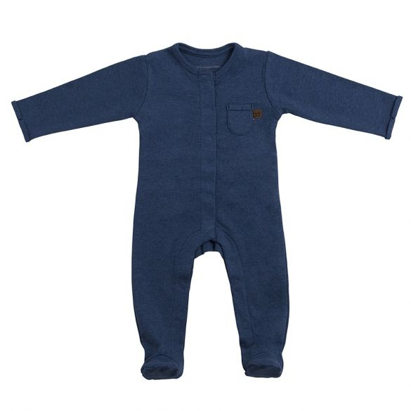 Baby's Only Coverall With Footies Melange Jeans