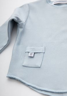 Bamboom Shirt Lange Mouw Blue