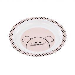 Lässig Dish Plate Little Chums Mouse