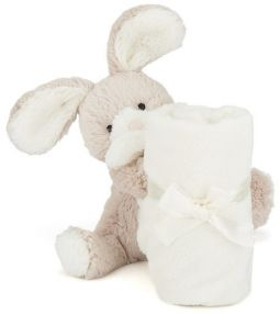 Jellycat Bashful Beige Soppy Bunny Soother