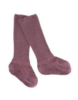 GoBabyGo Bamboo Non-Slip Socks Dark Blue