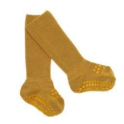 GoBabyGo Bamboo Non-Slip Socks Melange Grey