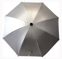 baby jungle parasol silver