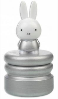 Miffy Tooth Box Silver/Silver