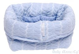 Baby Anne-Cy Baby Basket Butterfly Blue