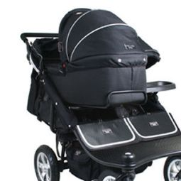 Valco TriMode Duo Carrycot Black