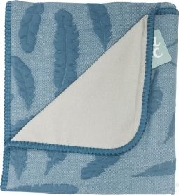 Baby Anne-Cy Cot Blanket Feather