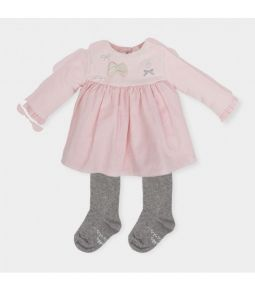 Tutto Piccolo Dress and Grey Tights