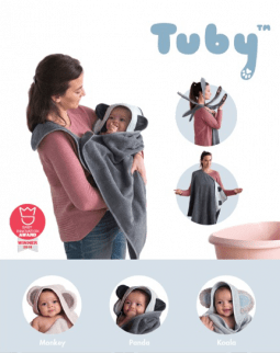 Tuby Baby Towel