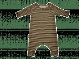 Bamboom Jumpsuit Stripe Ocra/Grey