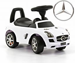 Mercedes Walking Car White