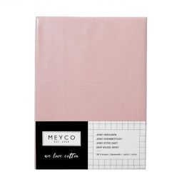 Meyco Jersey Hoeslaken Wieg 40 x 80/90