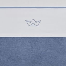 Meyco Katoenen Ledikantlaken Boat Jeans 100x150