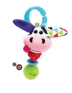 Yookidoo Rammelaar Shake Me Rattle Cow